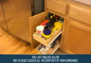 5 Pull-Out Shelf Options to Help Organize Your Kitchen [+6 pro kitchen decluttering tips] 12